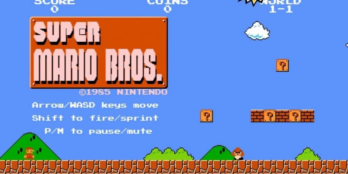 Full Screen Mario lleva el Super Mario Bros. original al navegador