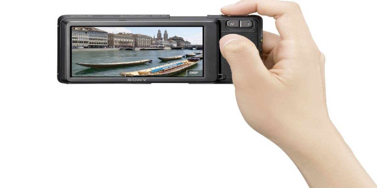 CES09: Sony Cybershot DSC-G3, cámara, WiFi y navegador todo en uno