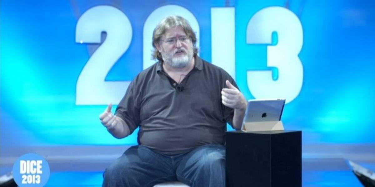 Gabe Newell comparte su visión del futuro en DICE 2013