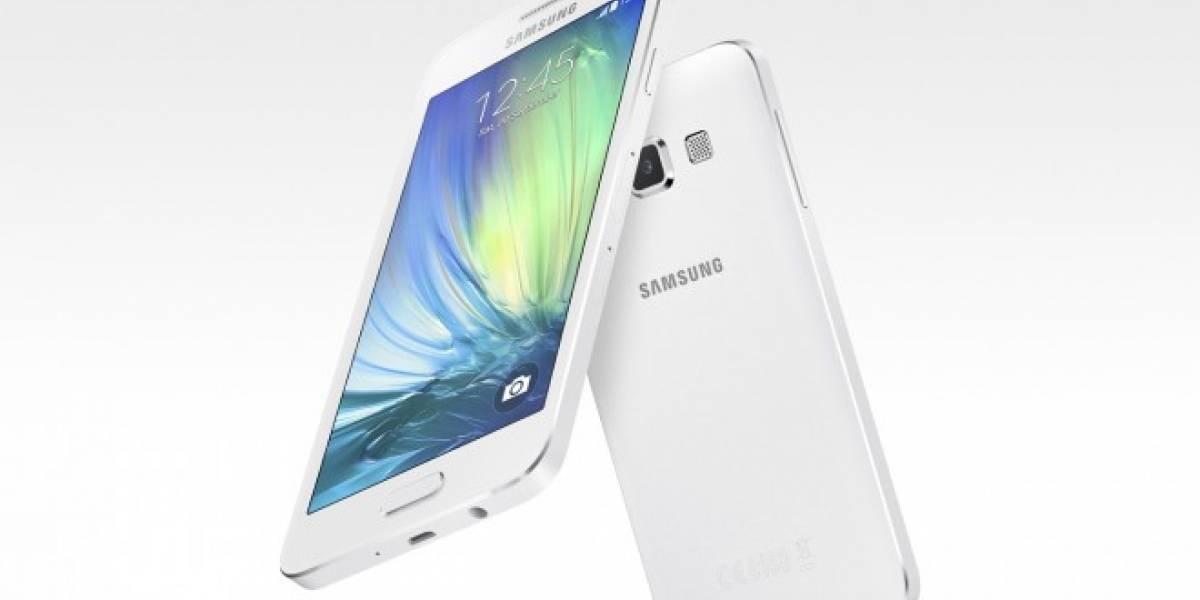 Samsung Galaxy A3, A5 y E5 llegarían a Chile