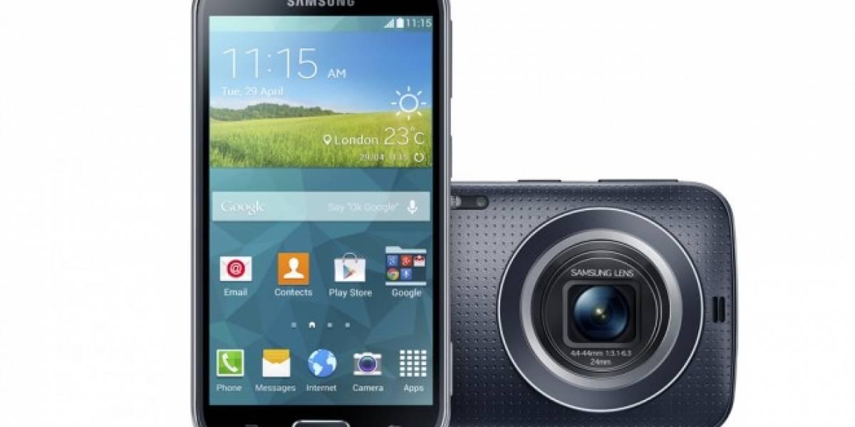 Samsung Galaxy K Zoom hace su arribo oficial en Chile