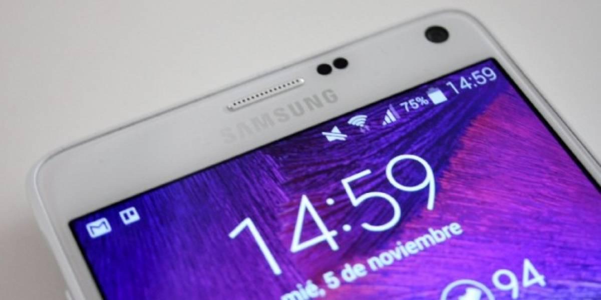 Aparecen imágenes de Android Lollipop en un Samsung Galaxy Note 4