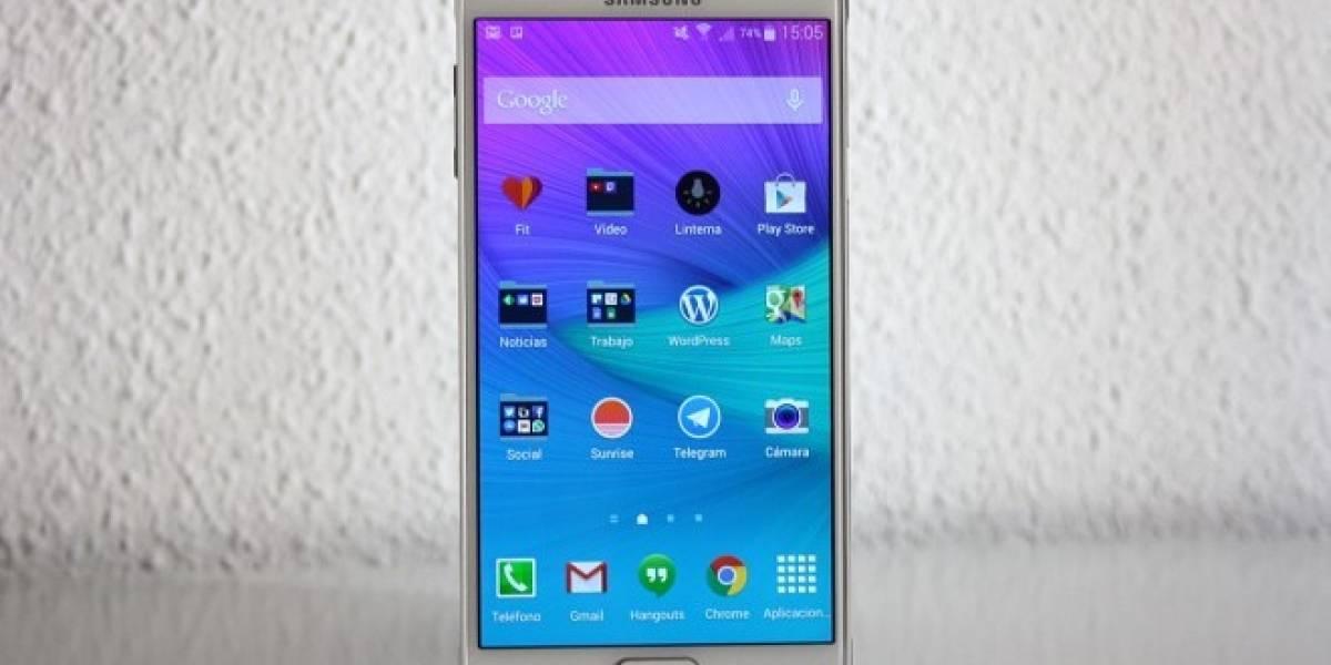 En video aparece un Samsung Galaxy Note 4 corriendo Android 5.0 Lollipop