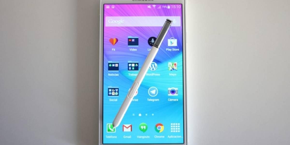Samsung anuncia el Galaxy Note 4 LTE con tecnología tri-banda