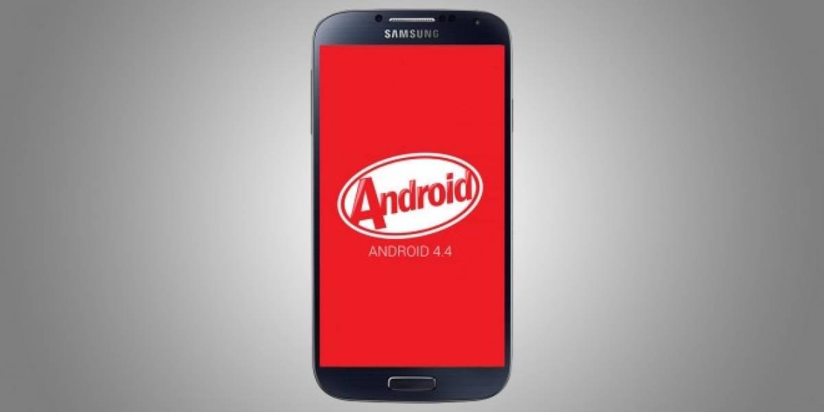 Samsung Galaxy S4 recibe oficialmente su actualización a Android 4.4.2 KitKat