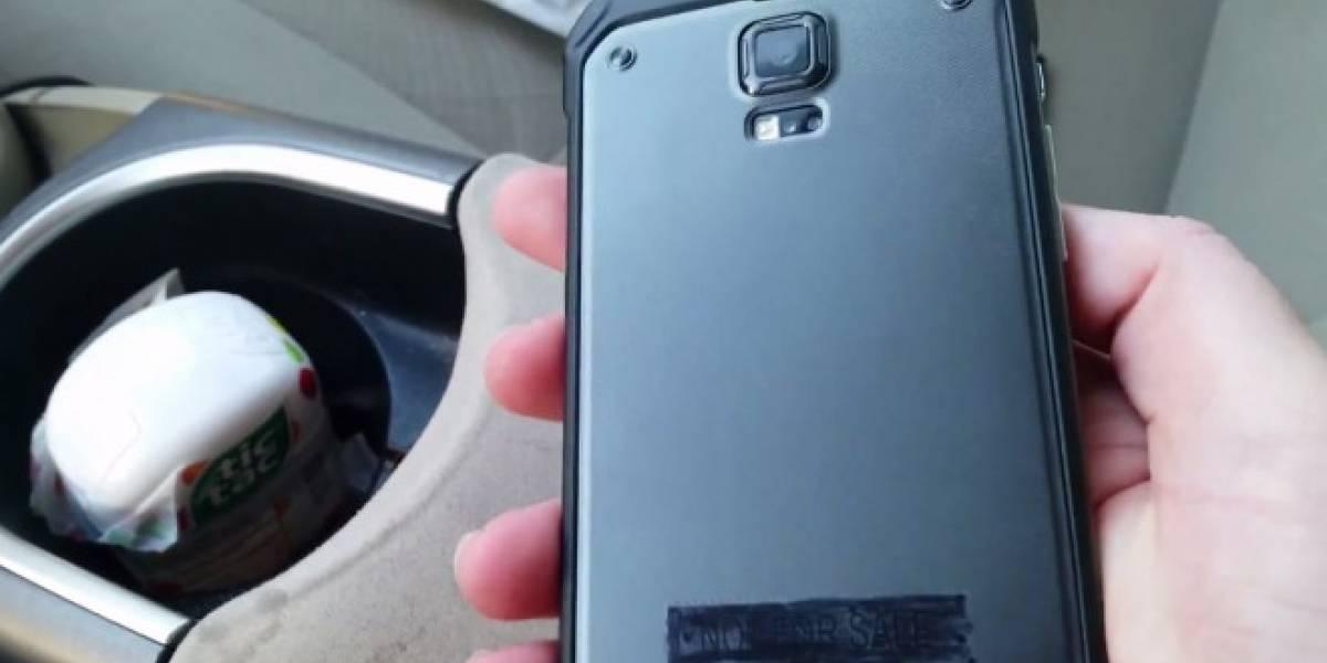 Samsung Galaxy S5 Active filtrado en detalle