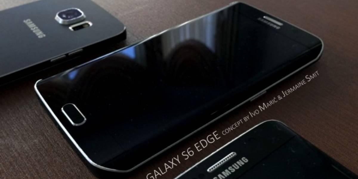 Impresionante video con renders de los Samsung Galaxy S6 y Galaxy S6 Edge
