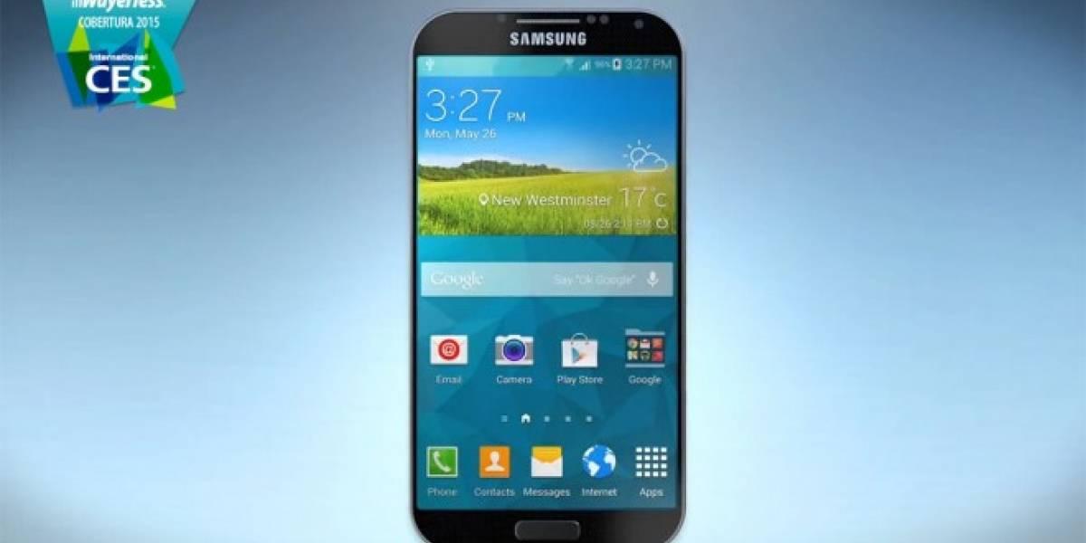 ¿Es este el Galaxy S6? #CES2015