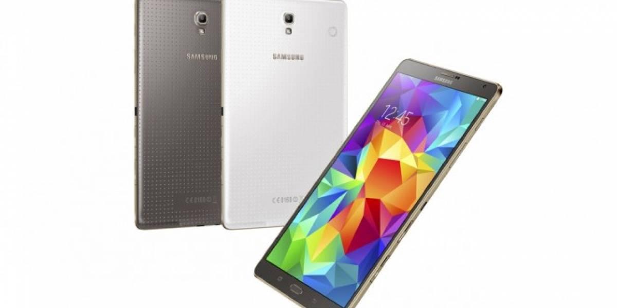 Samsung lanza oficialmente el Galaxy Tab S 8.4 y el Galaxy Tab S 10.5
