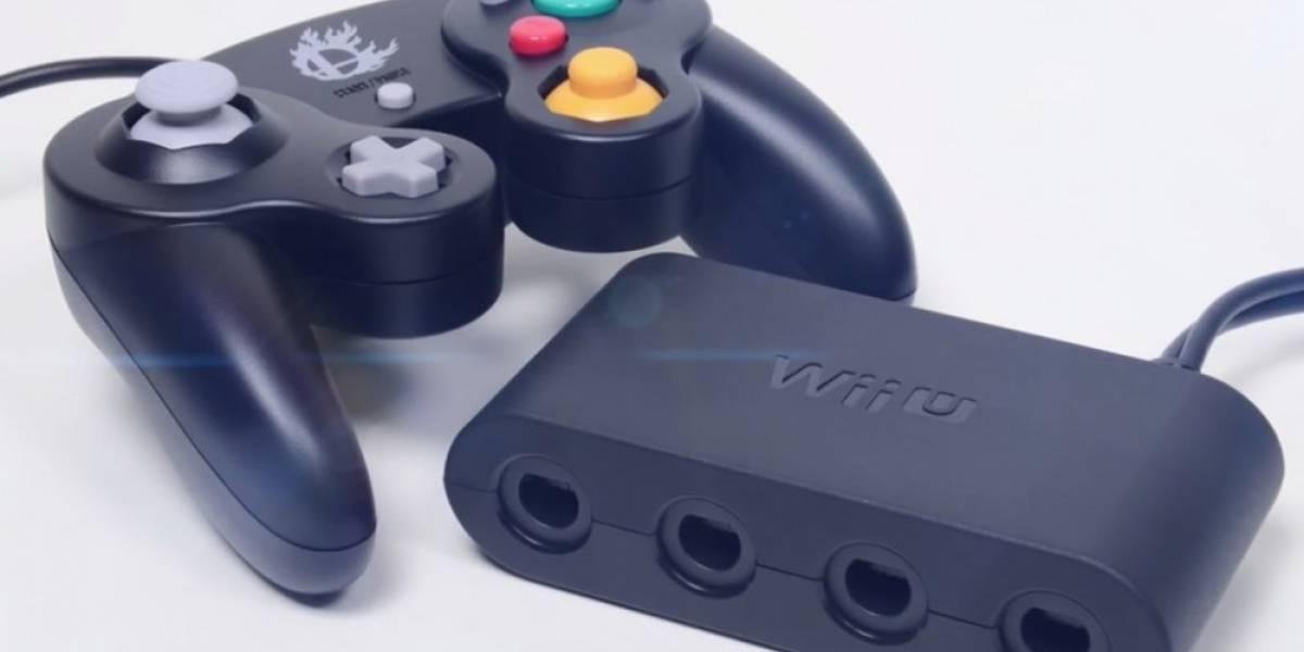 Nintendo anuncia adaptador de mando de GameCube para Wii U