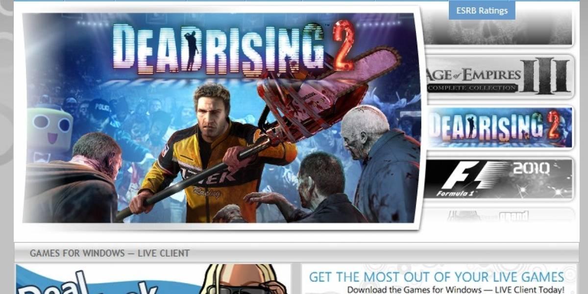 Microsoft presenta tienda web para Games on Demand en Windows