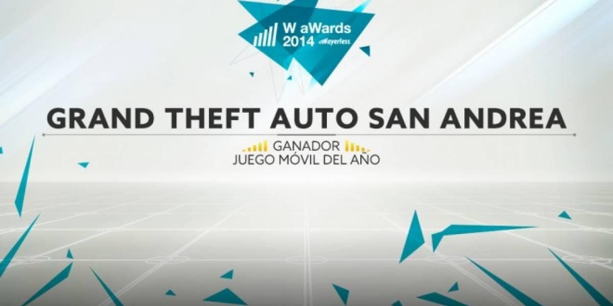 Grand Theft Auto: San Andreas es el Mejor Juego del 2014 [W aWards]