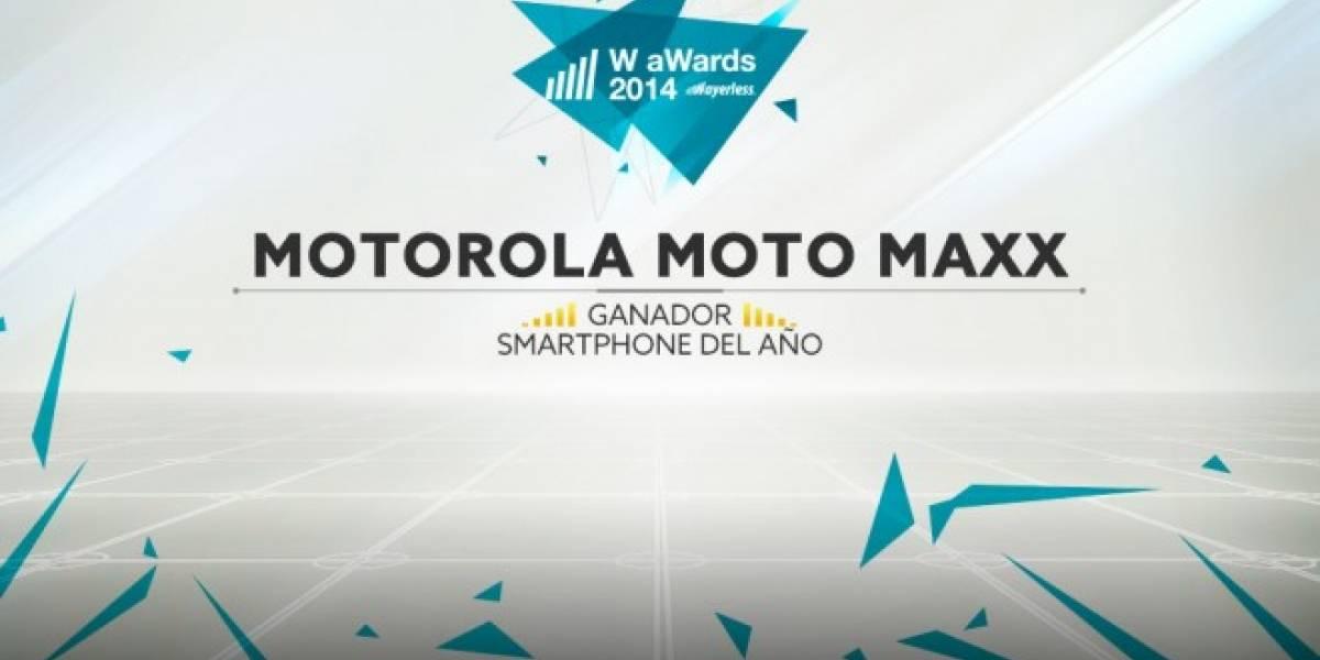 Motorola Moto Maxx es el Mejor Smartphone del 2014 [W aWards]