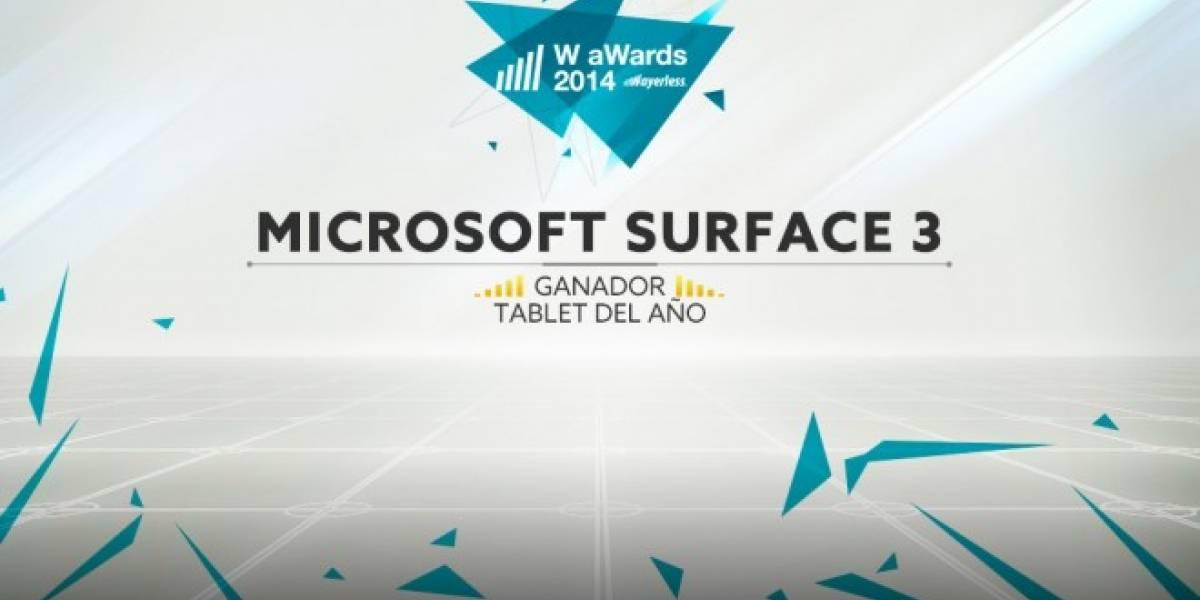 Microsoft Surface 3 Pro es la Mejor Tablet del 2014 [W aWards]