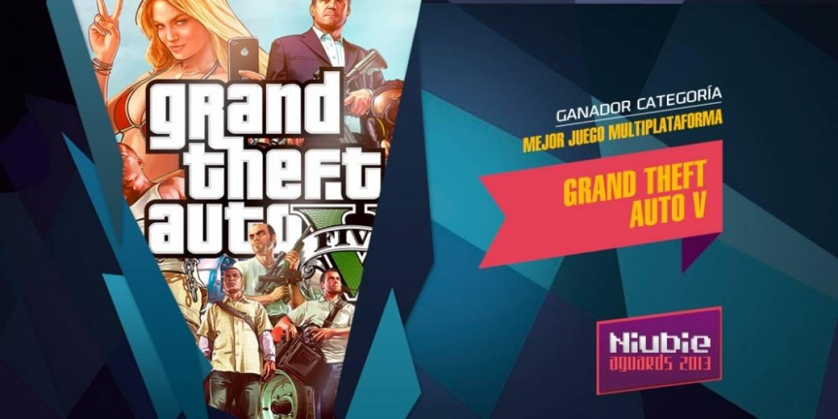 Grand Theft Auto V es el Mejor Juego Multiplataforma del 2013 [NB Aguards]