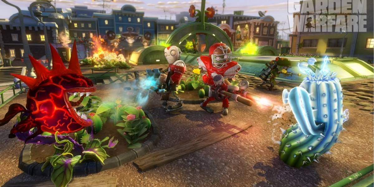 Explosivo trailer de Plants vs Zombies: Garden Warfare