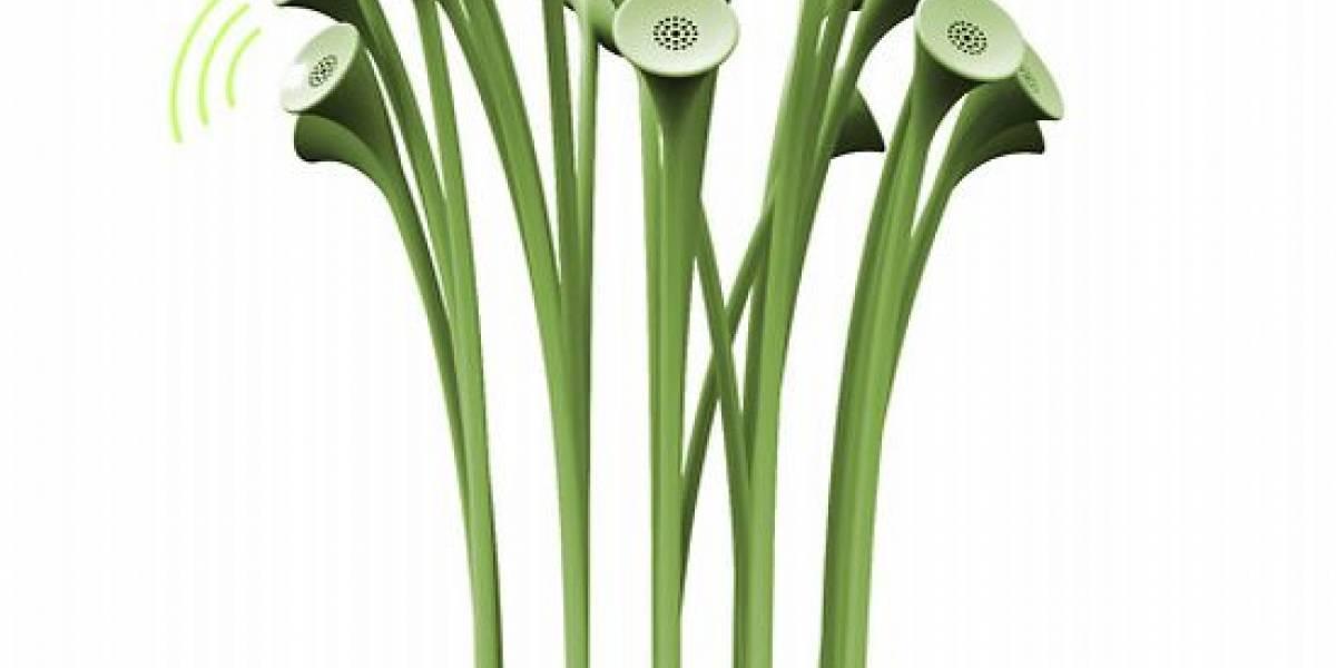 Sonido y LEDs en tu escritorio, vía plantas