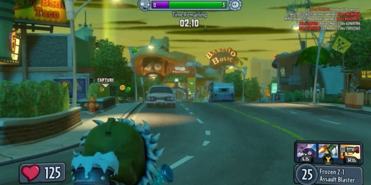 4 minutos de pura jugabilidad en Plants Vs Zombies: Garden Warfare