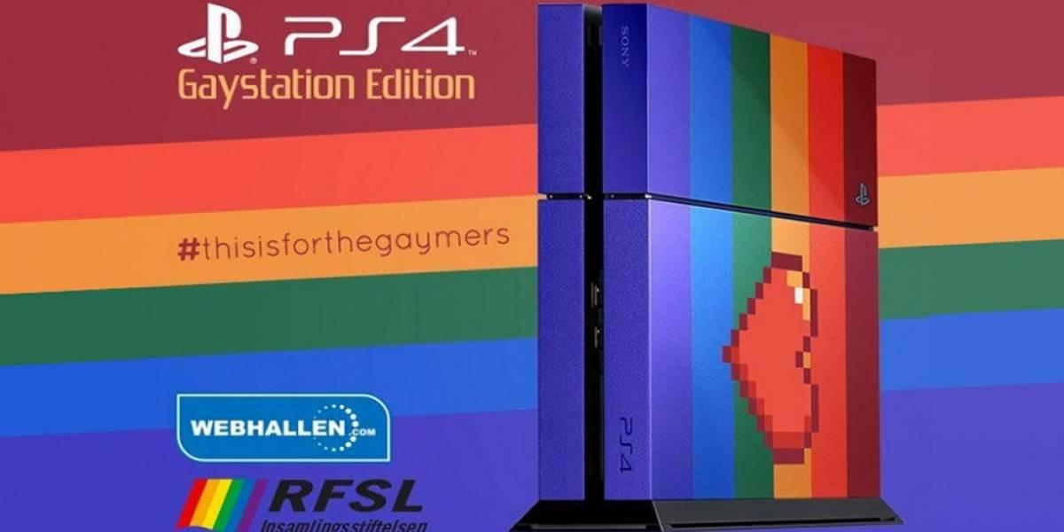 PlayStation 4 será subastado para conmemorar el Stockholm Pride Parade