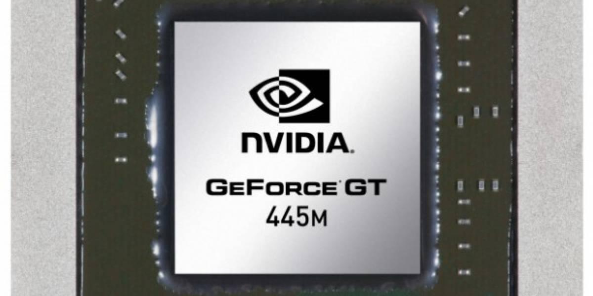 NVIDIA presenta serie 400M para notebooks