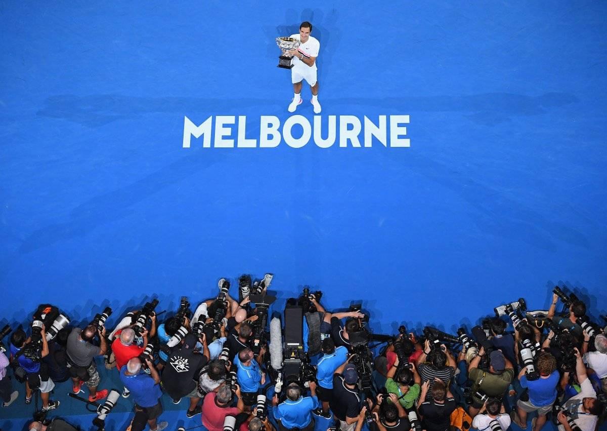 Roger Feder gana Australia 2018