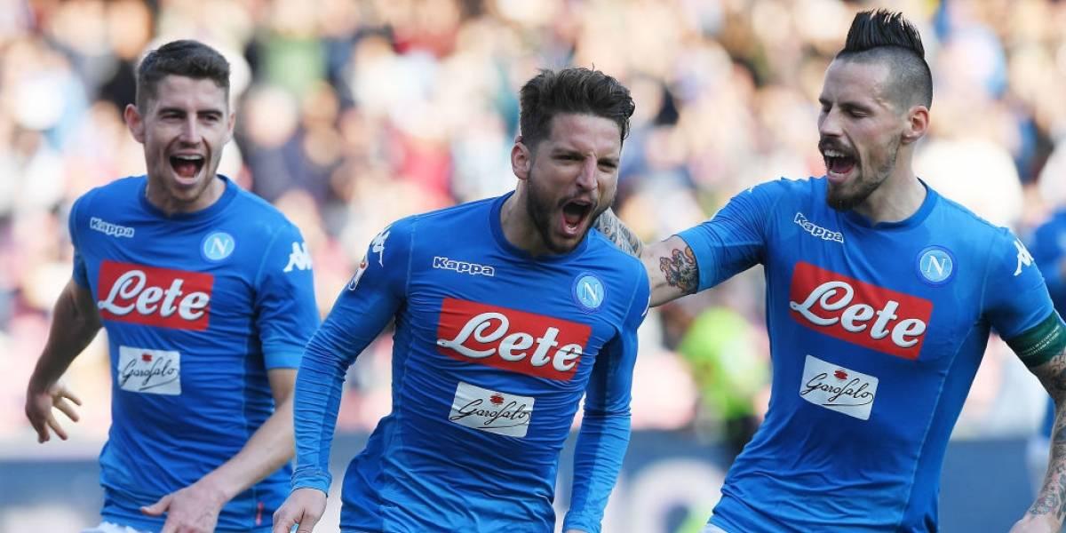 Napoli volvió a la cima del fútbol italiano a costa del Bologna de Erick Pulgar
