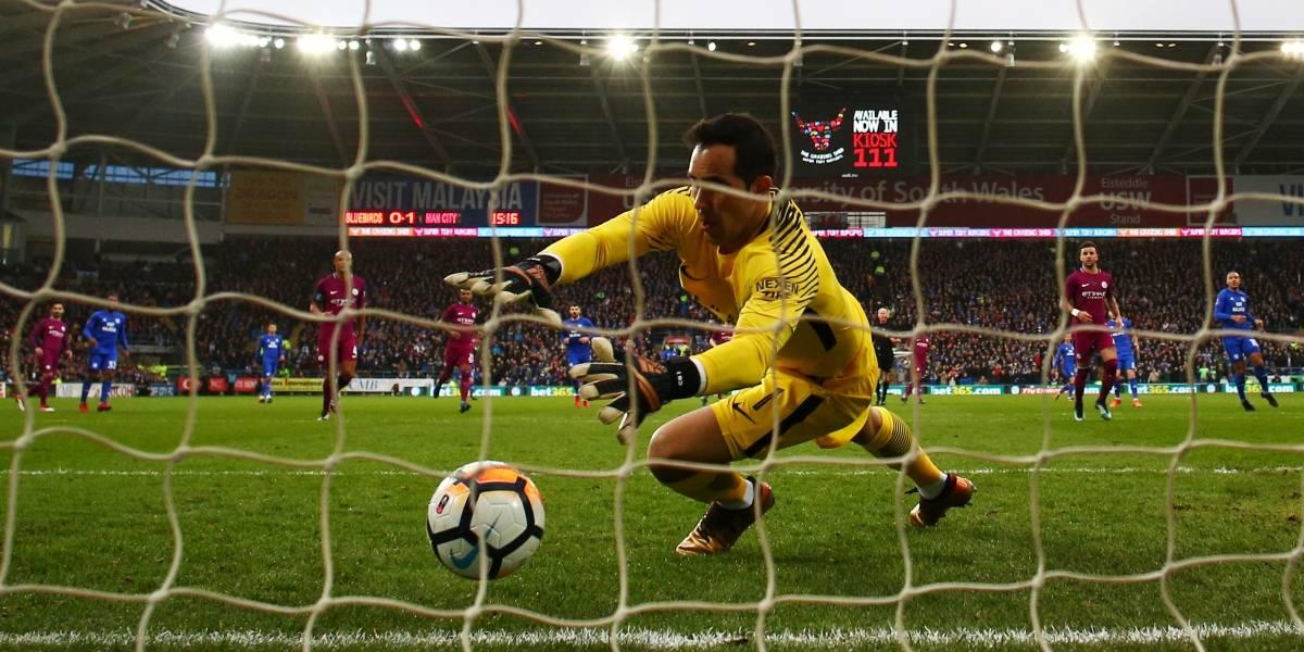 Manchester City avanza sin despeinarse en la FA Cup con Claudio Bravo como titular