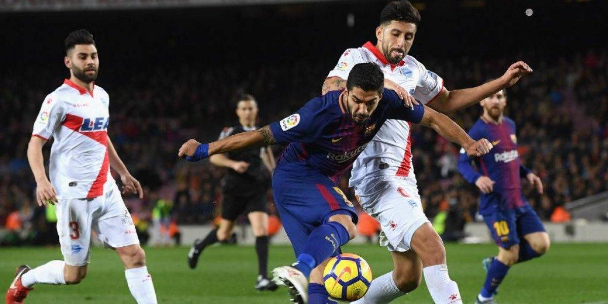 Alavés de Guillermo Maripán luchó pero no puedo evitar la derrota a manos del Barcelona