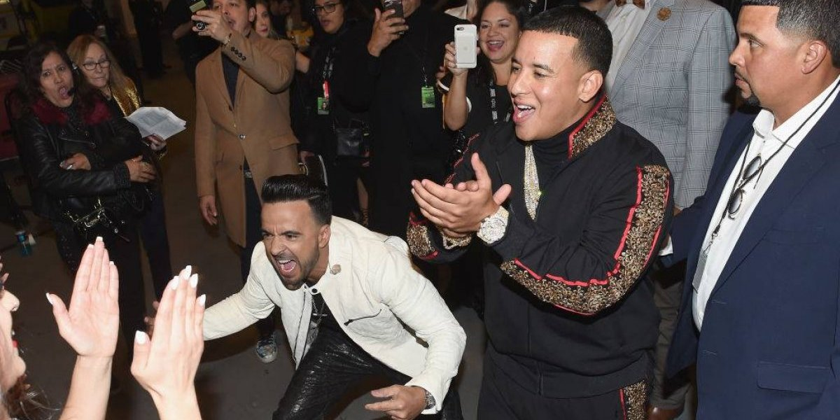 Así fue el backstage de Luis Fonsi y Daddy Yankee en los Grammy