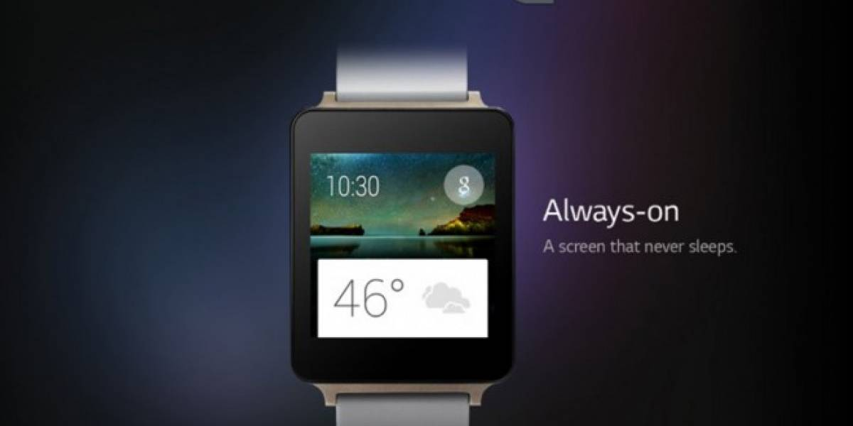 LG G Watch aparece en un video mostrando a Android Wear