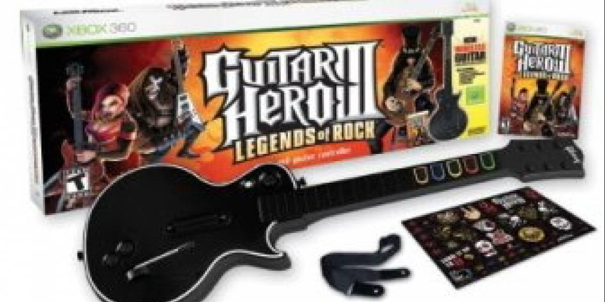 Sólo por hoy: Guitar Hero III: Legends of Rock Bundle desde US$50