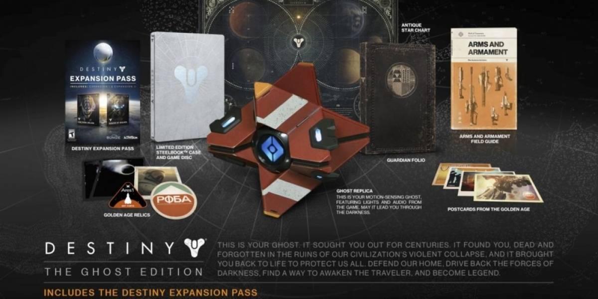 La Edición Ghost de Destiny es tan escasa que se están cancelando pre-órdenes