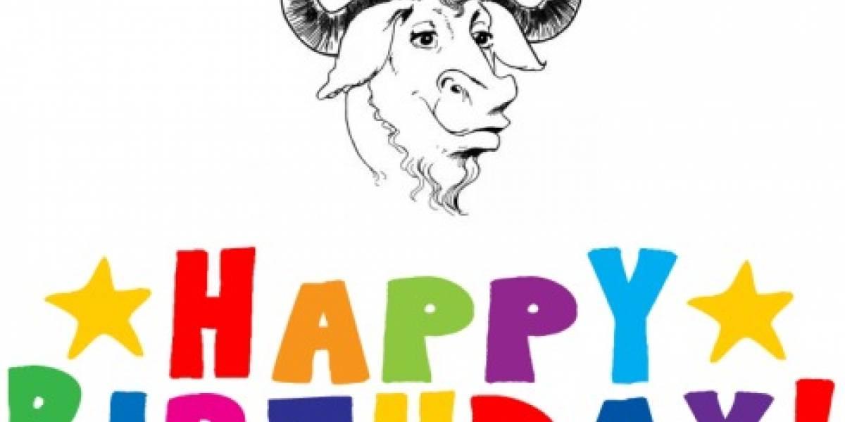 El Sistema Operativo GNU cumple 25 años