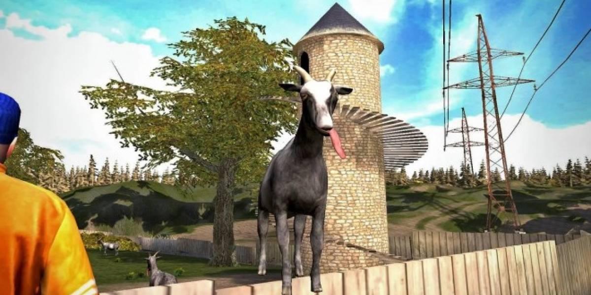 Goat Simulator llega a iOS y Android