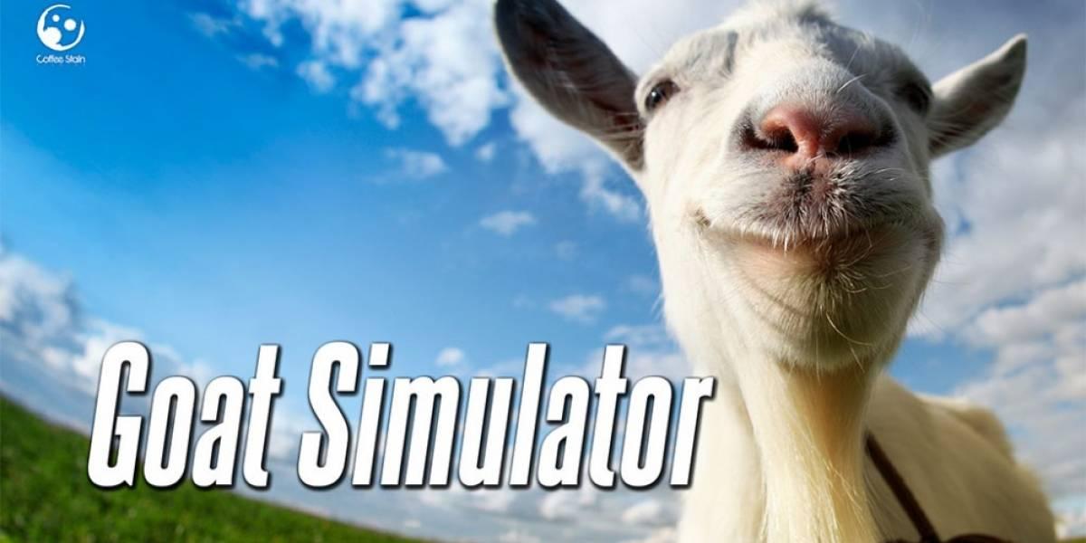 Creador de Goat Simulator se muestra sorprendido por la piratería del juego