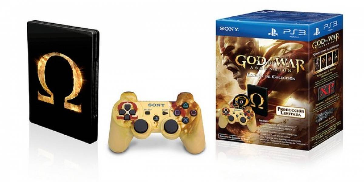 God of War: Ascension tendrá edicion de colección exclusiva para Latinoamérica