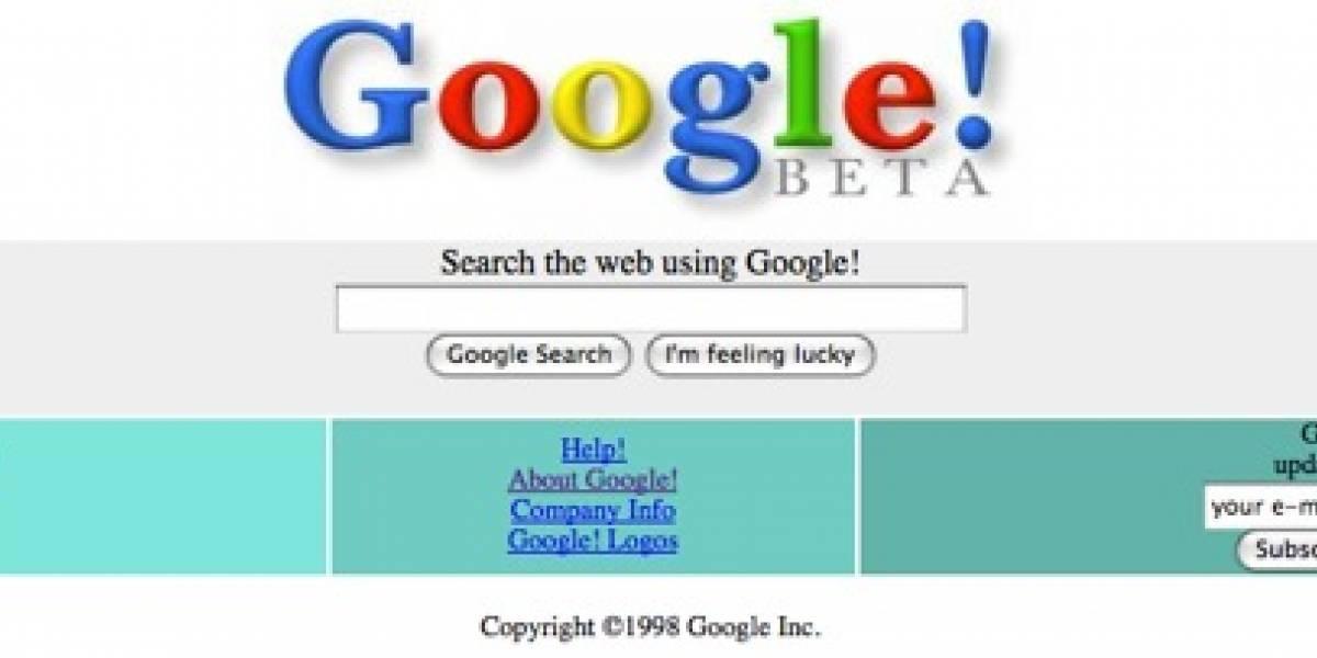 Google también estuvo en Beta