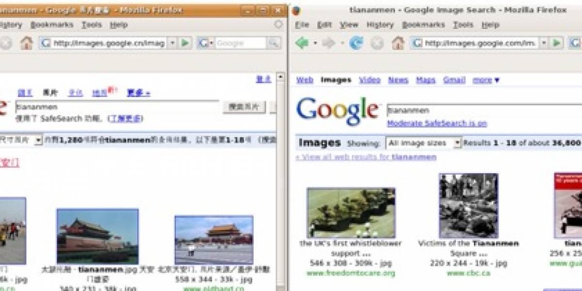 Google China v/s Google resto del mundo