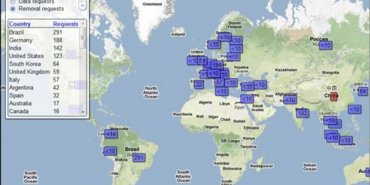 Google echa al agua a países que quieren aplicar censura