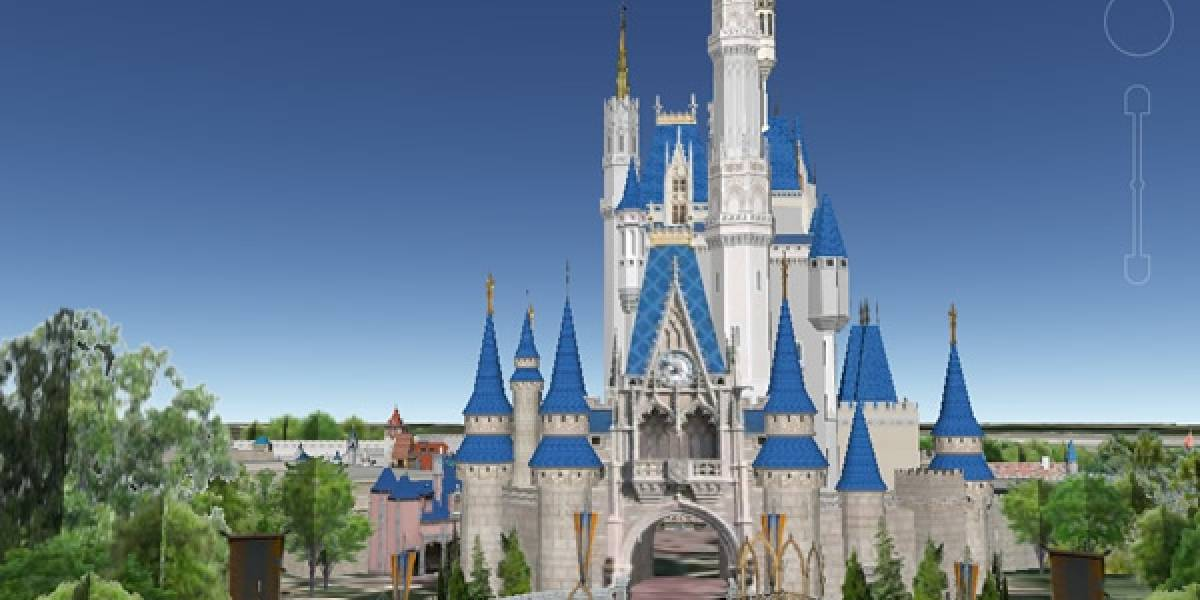 Recorre Walt Disney World en 3D en Google Earth