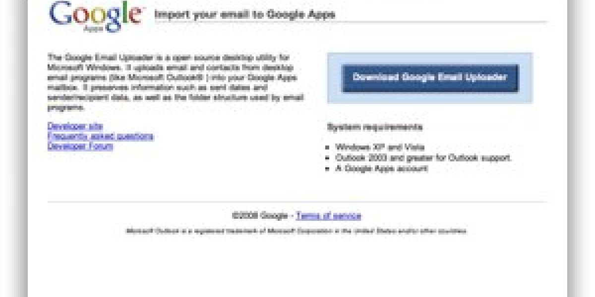 Google Email Uploader: Usuarios de Outlook, regocijaos