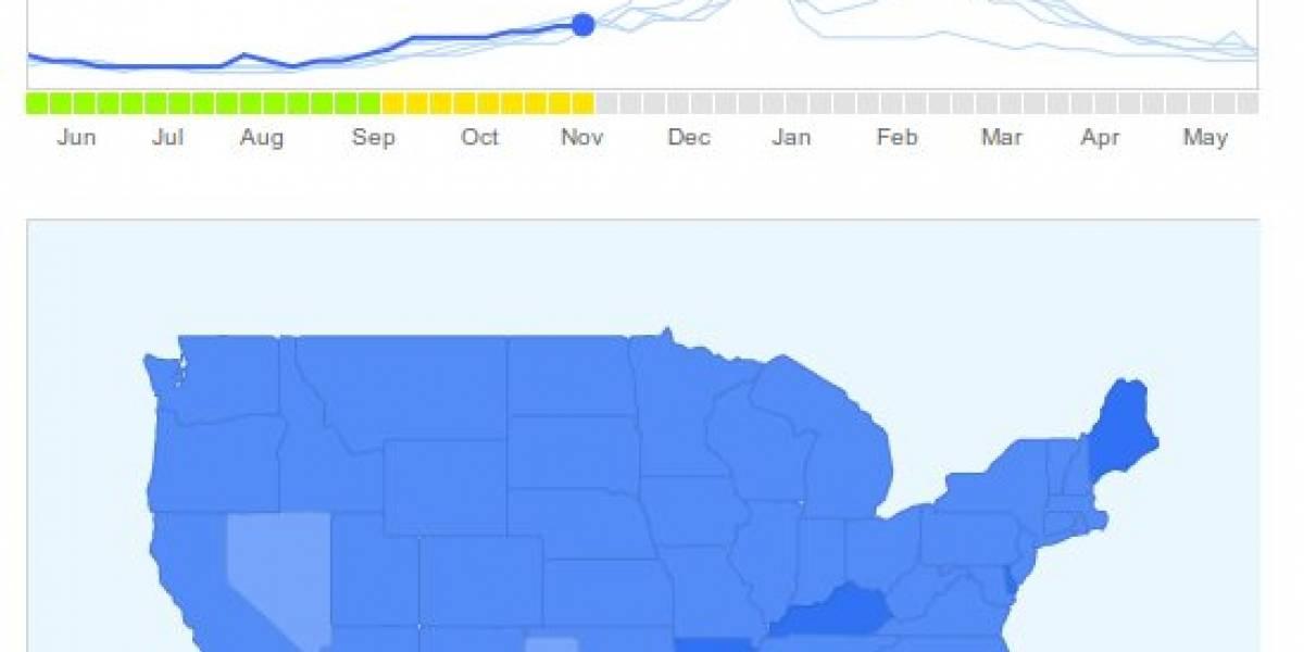 Google ahora predice los brotes de gripe