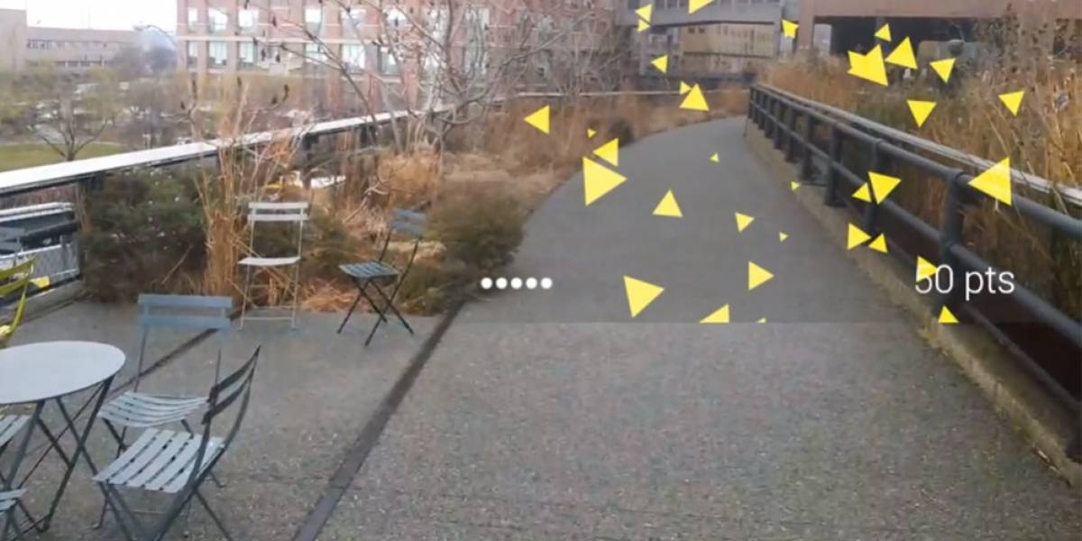 Así es como se juega en Google Glass