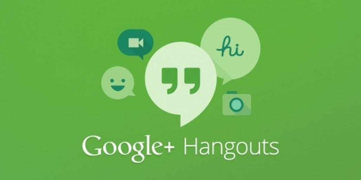 Hangouts para Android se actualiza y trae novedades