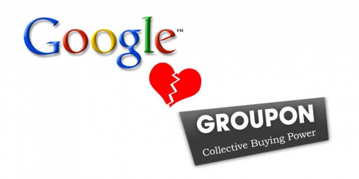 Groupon le niega la oferta a Google, adiós compra