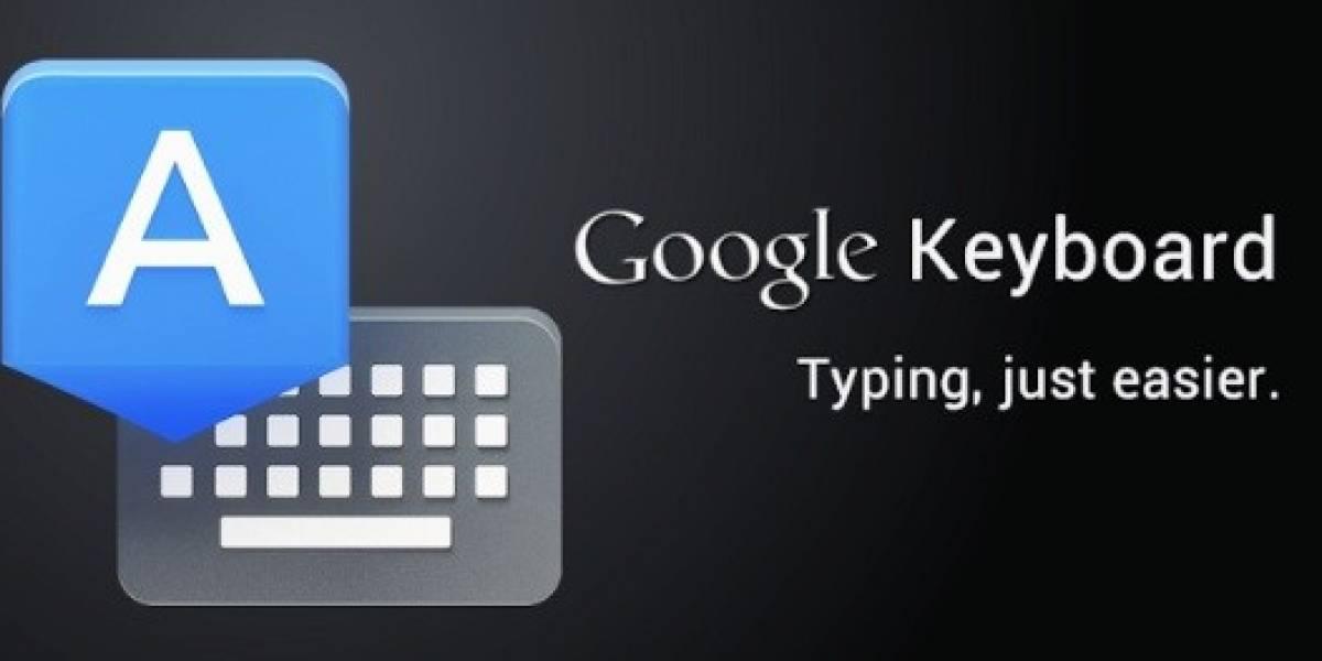 Teclado de Google se actualiza con importantes cambios