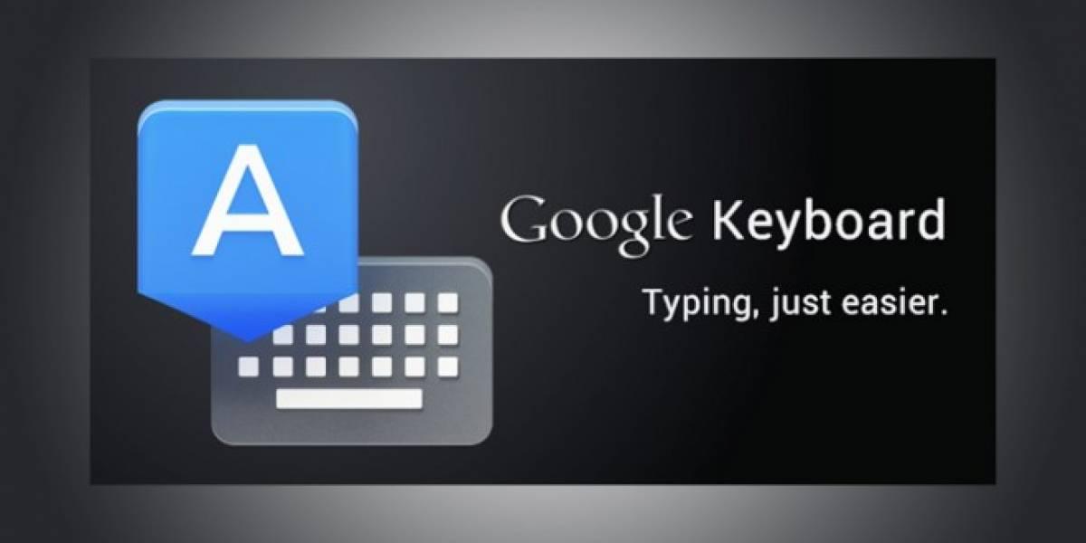 Teclado de Google se actualiza agregando español latino