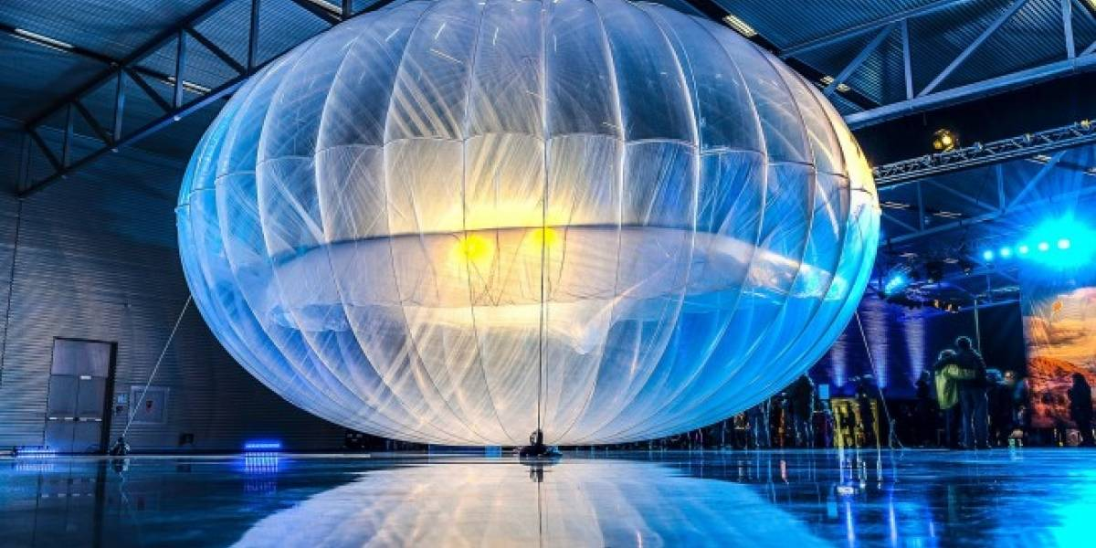 Globos de Google podrían dar conexión 4G a todo un país