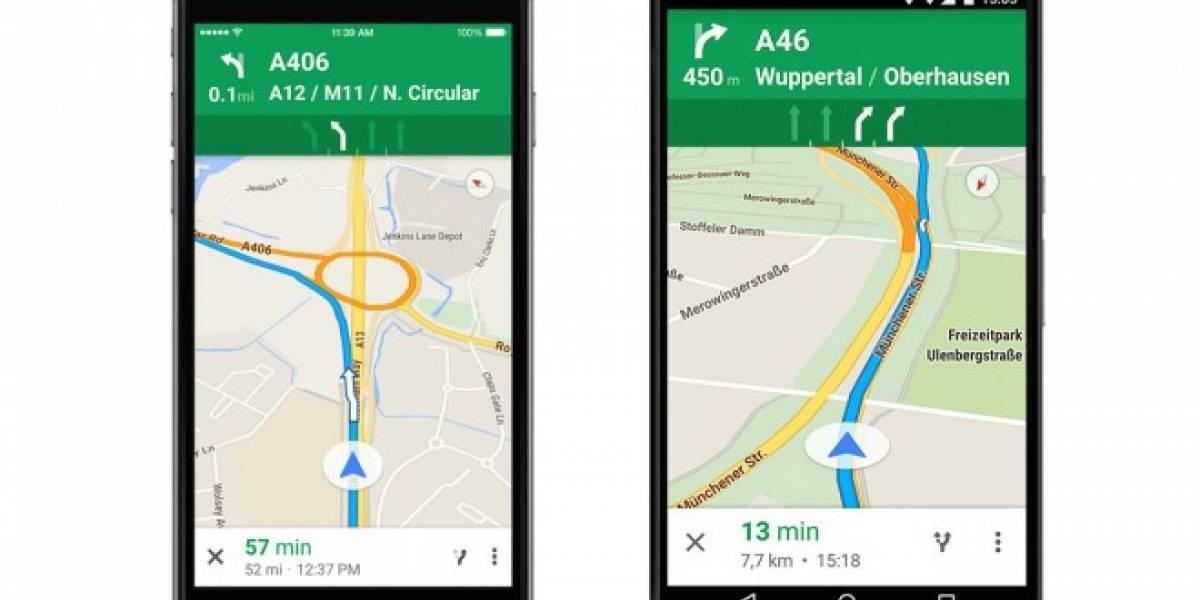 Google Maps ya informa en que carril mantenerte en Europa
