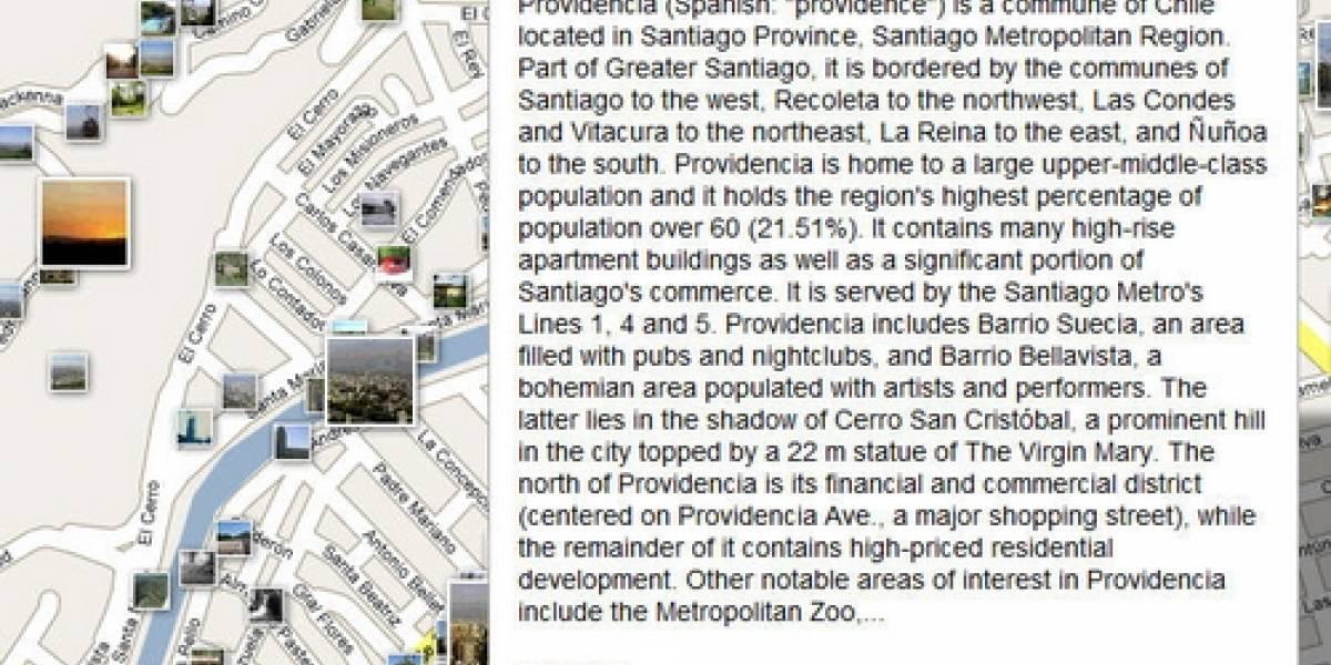Google Maps ahora con fotos y Wikipedia